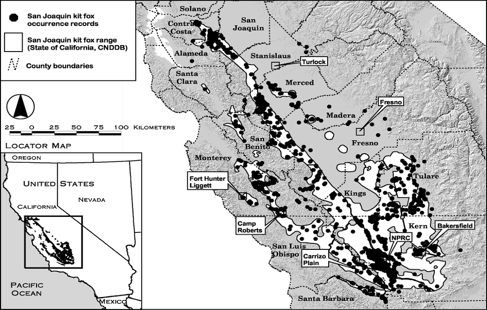 endangered species recovery program data and maps